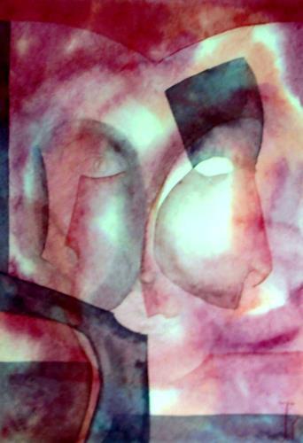 Jutta Regina Frederiks, Mystik 2, Abstraktes, Expressionismus