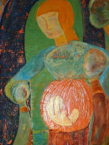 Jutta Regina Frederiks, mother forever, Fantasie, Abstrakte Kunst