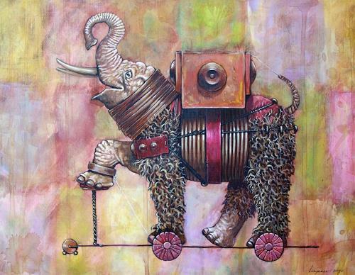 Sascha Lunyakov, Troyan elephant, Diverse Tiere, Fantasie