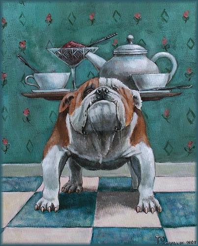 Sascha Lunyakov, English tea, Tiere: Land, Humor