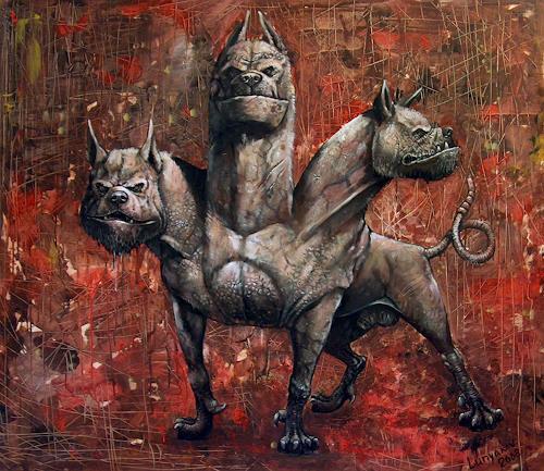 Sascha Lunyakov, Cerber, Diverse Tiere, Mythologie