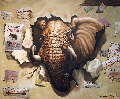 Sascha Lunyakov, Wanted, Tiere: Land, Humor