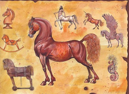 Sascha Lunyakov, Horse History, Tiere: Land, Dekoratives