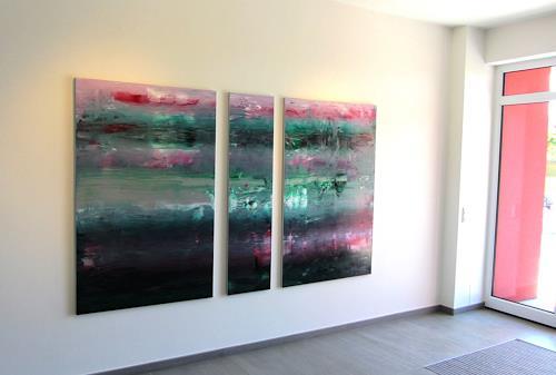 Arno Diedrich, Zeit I II & III, Abstraktes, Zeiten: Zukunft, Gegenwartskunst
