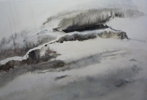 Sabine Lovermann, o.T., Landschaft, Abstraktes, Abstrakte Kunst