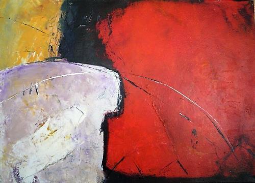 Sabine Lovermann, As we meet, Abstraktes, Gegenwartskunst, Abstrakter Expressionismus