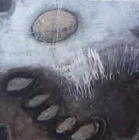 Sabine-Lovermann-Abstraktes-Landschaft-Winter-Gegenwartskunst-Gegenwartskunst
