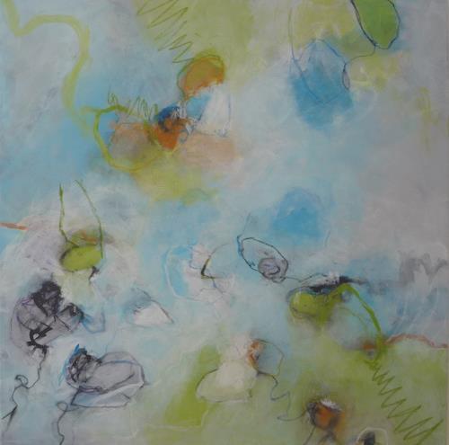 Sabine Lovermann, o.T., Abstraktes, Natur, Gegenwartskunst, Expressionismus