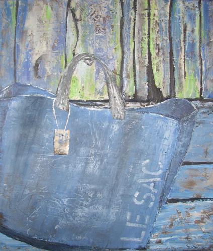 Ruth Roth, le sac, Stilleben, Dekoratives, Gegenwartskunst