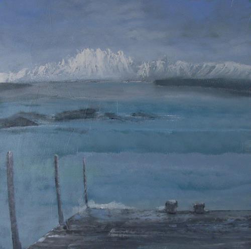 Ruth Roth, Nordmeer, Landschaft: See/Meer, Natur: Wasser, Gegenwartskunst