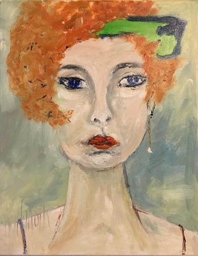 Ruth Roth, Portrait Adele, Menschen, Menschen: Porträt, Andere, Abstrakter Expressionismus