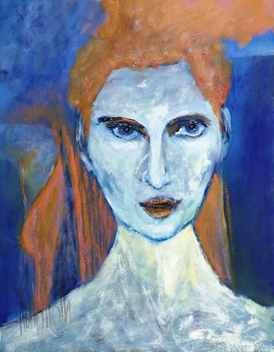 Ruth Roth, Portrait Walli, Menschen, Menschen: Porträt, Gegenwartskunst