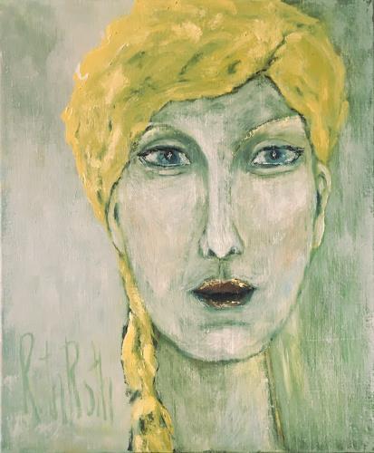 Ruth Roth, Portrait Lotte, Menschen, Menschen: Porträt, Gegenwartskunst