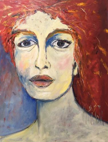 Ruth Roth, PortraitLilli, Menschen, Menschen: Porträt, Gegenwartskunst