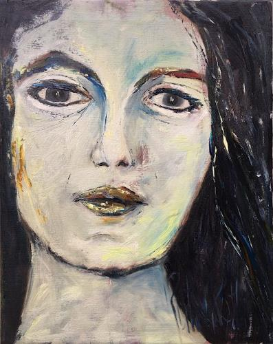 Ruth Roth, Portrait Sofie, Menschen, Menschen: Porträt, Gegenwartskunst