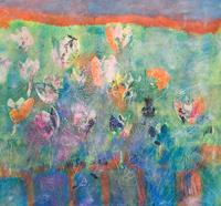 Ruth-Roth-Pflanzen-Blumen-Abstraktes-Gegenwartskunst-Gegenwartskunst