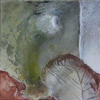 R. Boderke, Komposition mit Blatt