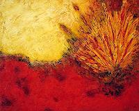 Edelgard-Sprengel-Abstraktes-Natur-Erde-Gegenwartskunst--Gegenwartskunst-