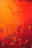 Edelgard-Sprengel-Abstraktes-Tiere-Luft-Gegenwartskunst--Gegenwartskunst-