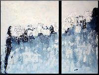 Edelgard-Sprengel-Abstraktes-Natur-Wasser-Gegenwartskunst--Gegenwartskunst-