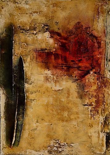 Edelgard Sprengel, Rituale 2, Zyklus Afrika, Abstraktes, Gesellschaft, Gegenwartskunst
