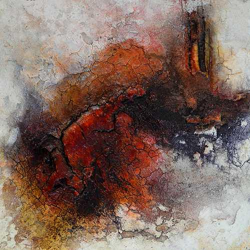 Edelgard Sprengel, Farben Afrikas 11, Abstraktes, Natur, Gegenwartskunst