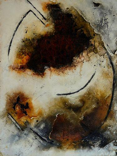Edelgard Sprengel, Ein ewiger Kreislauf, Zyklus Afrika, Abstraktes, Gesellschaft, Gegenwartskunst