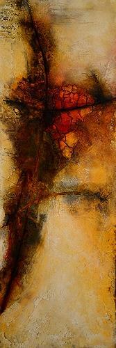 Edelgard Sprengel, Rituale 1, Zyklus Afrika, Abstraktes, Gesellschaft, Gegenwartskunst