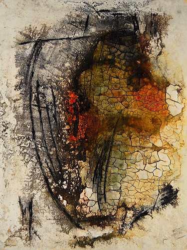 Edelgard Sprengel, Melilla - Zuflucht zwischen den Welten, Zyklus Afrika, Abstraktes, Gesellschaft, Gegenwartskunst