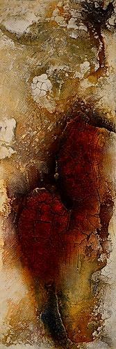 Edelgard Sprengel, Farben Afrikas 5, Abstraktes, Natur, Gegenwartskunst