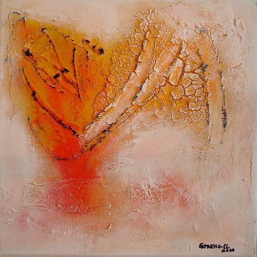 Edelgard Sprengel, Welche Farbe hat die Welt?, Abstraktes, Gegenwartskunst, Expressionismus