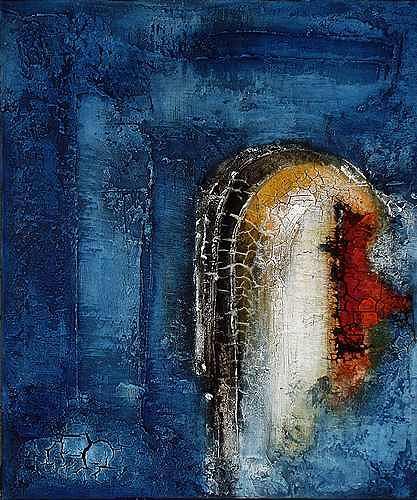 Edelgard Sprengel, Aquatisch 2, Abstraktes, Natur: Wasser, Expressionismus, Abstrakter Expressionismus