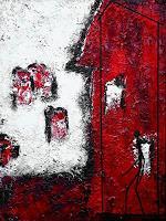 Edelgard-Sprengel-Bauten-Haus-Menschen-Mann-Gegenwartskunst-Gegenwartskunst