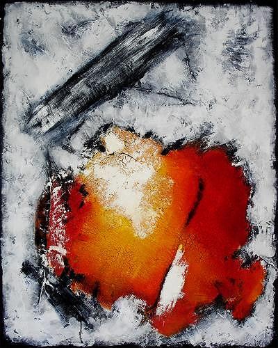 Edelgard Sprengel, Lebenslust II, Gefühle: Freude, Abstraktes, Expressionismus, Abstrakter Expressionismus