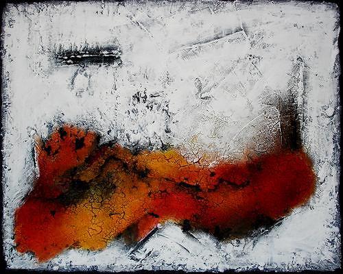 Edelgard Sprengel, Entspannung II, Abstraktes, Diverse Gefühle, Expressionismus
