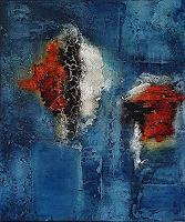 Edelgard-Sprengel-Abstraktes-Natur-Wasser-Moderne-Expressionismus