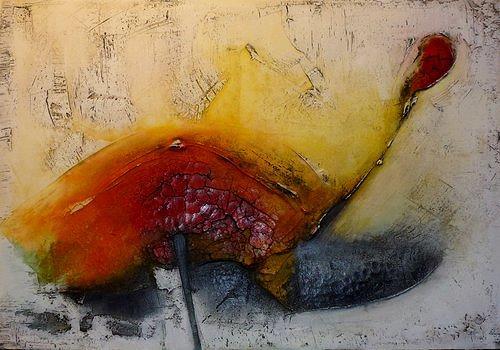 Edelgard Sprengel, Genau mein Tag / Reihe: Bewegtes Leben, Abstraktes, Gefühle: Freude, Informel, Expressionismus