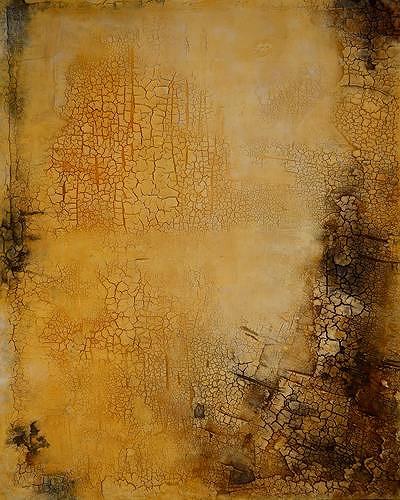 Edelgard Sprengel, Sehnsucht nach Regen, Zyklus Afrika, Abstraktes, Gefühle, Gegenwartskunst