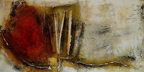 Edelgard Sprengel, Kontinent der Gegensätze, Zyklus Afrika, Abstraktes, Gesellschaft, Gegenwartskunst, Expressionismus