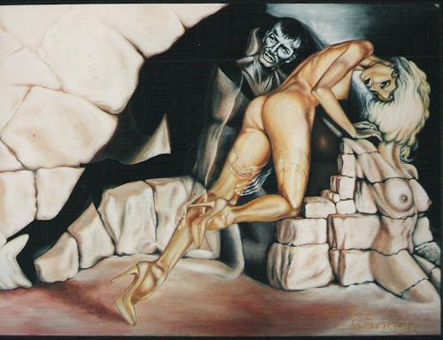 Peter Sänger, Die Wand, Diverse Erotik, Abstrakter Expressionismus