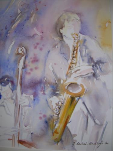 Jolanda Lachat, Jazznight, Musik: Konzert, Gegenwartskunst, Expressionismus