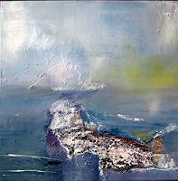 Silvia-Sailer-Landschaft-Winter-Landschaft-See-Meer-Moderne-Abstrakte-Kunst