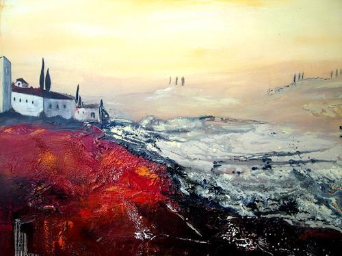 Silvia Sailer, Toskana, Diverse Landschaften, Landschaft: Hügel, Moderne
