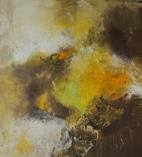 Silvia Sailer, Vernetzt II, Abstraktes, Fantasie, Abstrakte Kunst, Abstrakter Expressionismus