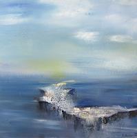 Silvia-Sailer-Natur-Wasser-Landschaft-Winter-Gegenwartskunst-Gegenwartskunst