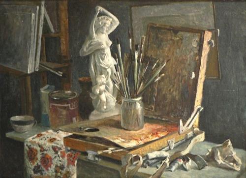 Alexander Jen, Im Atelier des Künstlers, Diverses
