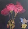 Marija Weiss, Dr., Blumen und Schmetterling