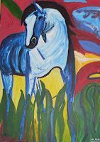 M. Weiss, Dr., Das blauer Pferd