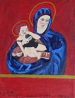 Marija-Weiss--Dr-Religion-Symbol-Moderne-Andere-Neue-Figurative-Malerei