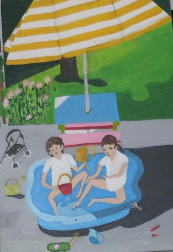 Marija Weiss, Dr., Zusammen spielen, Menschen: Kinder, Menschen: Familie, Gegenwartskunst